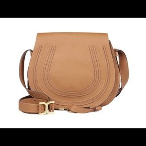 CHLOE Marcie Crossbody in Nut AUTHENTIC & GORGEOUS